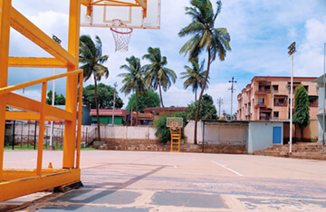 Mallasajjan School - Basketball Court